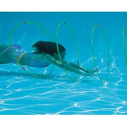 Swim through Slalom Hoops (Set of 4)
